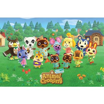 Animal Crossing posters Lineup 61 x 91 cm (5)