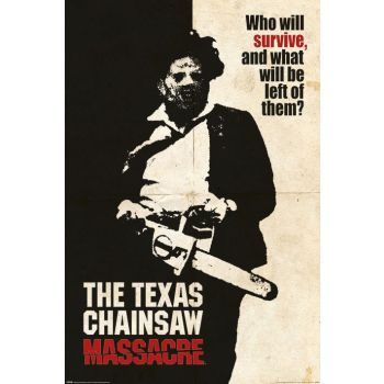 Texas Chainsaw Massacre posters Who Will Survive? 61 x 91 cm (5)