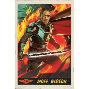 Star Wars The Mandalorian posters Moff Gideon Card 61 x 91 cm (5)