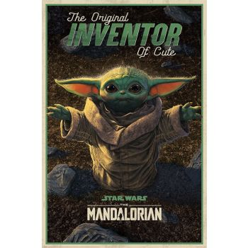 Star Wars The Mandalorian posters The Original Inventor of Cute 61 x 91 cm (5)