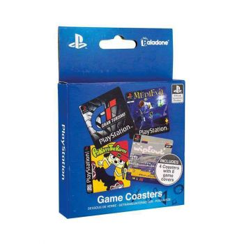 PlayStation pack 4 sous-verres Game Cover