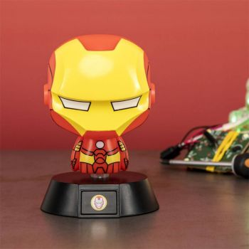 Marvel veilleuse 3D Icon Iron Man