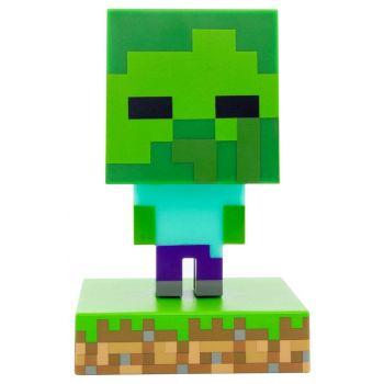 Minecraft veilleuse 3D Icon Zombie