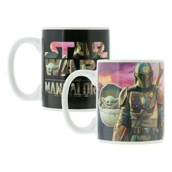 Star Wars The Mandalorian mug effet thermique The Mandalorian