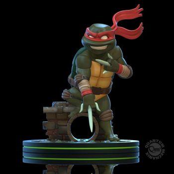 Tortues Ninja figurine Q-Fig Raphael 13 cm --- EMBALLAGE ENDOMMAGE