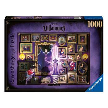 Disney Villainous puzzle Blanche-Neige - Mauvaise Reine (1000 pièces)