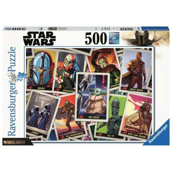 Star Wars The Mandalorian puzzle The Child (500 pièces)
