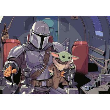 Star Wars The Mandalorian puzzle Cartoon (1000 pièces)