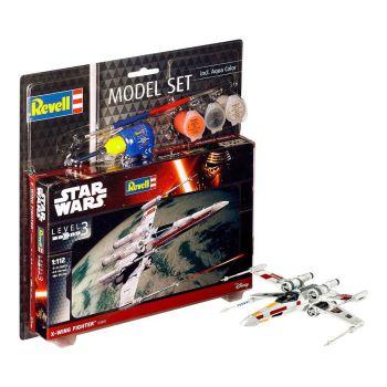 Star Wars maquette 1/112 Model Set X-Wing Fighter 11 cm