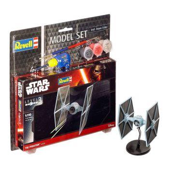 Star Wars maquette 1/110 Model Set TIE Fighter 9 cm