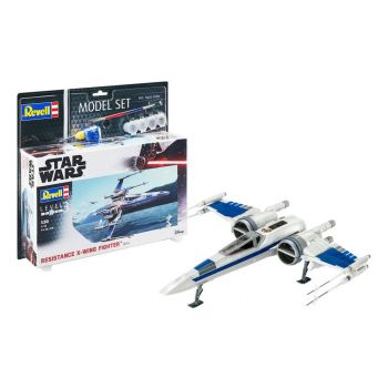 Star Wars maquette 1/50 Model Set Resistance X-Wing Fighter 25 cm