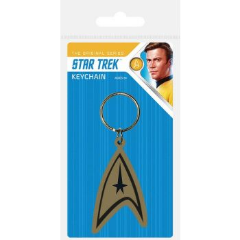 Star Trek assortment porte-clés caoutchouc Insignia 6 cm (10)