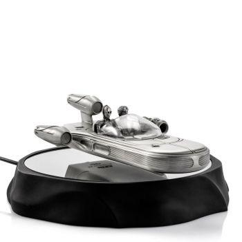 Star Wars modèle lévitation magnétique Pewter Collectible Landspeeder 19 cm