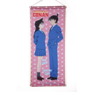 Détective Conan wallscroll Shinichi & Ran 28 x 68 cm