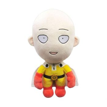 One-Punch Man peluche Saitama Happy Version 28 cm
