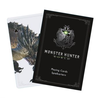 Monster Hunter World jeu de cartes à jouer Monsters