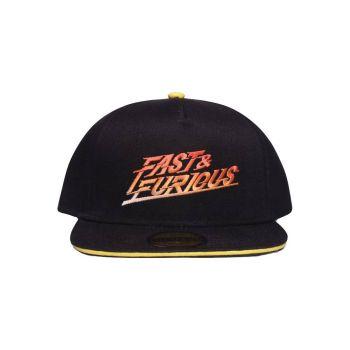 Fast & Furious casquette Snapback Gradient Logo