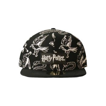 Harry Potter casquette Snapback Heraldic Animals BW