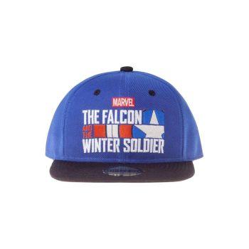 Le Faucon et le Soldat de l'Hiver casquette Snapback Logo