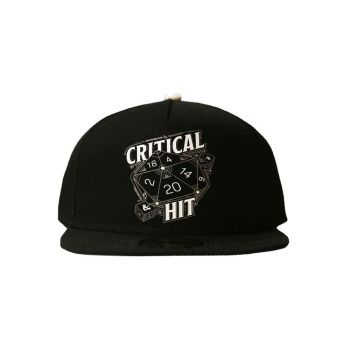 Dungeon & Dragons casquette Snapback Critical Hit