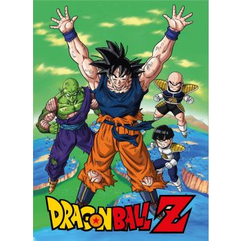 Dragonball couverture polaire Namek 100 x 150 cm