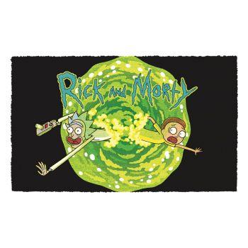 Rick & Morty paillasson Logo 40 x 60 cm