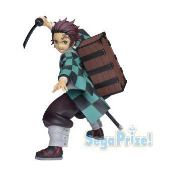 Demon Slayer: Kimetsu no Yaiba statuette PVC Kamado Tanjiro (Sega Prize) 20 cm --- EMBALLAGE ENDOMMAGE