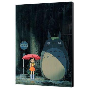 Mon voisin Totoro tableau en bois Totoro 35 x 50 cm
