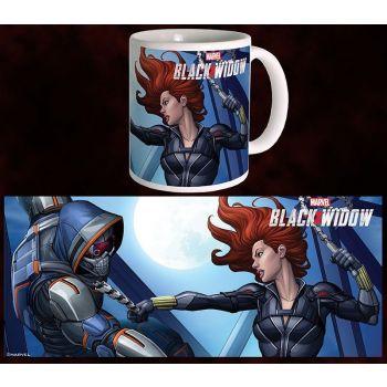 Black Widow Movie mug BW vs TM