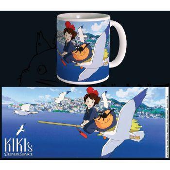 Studio Ghibli mug Kiki --- EMBALLAGE ENDOMMAGE