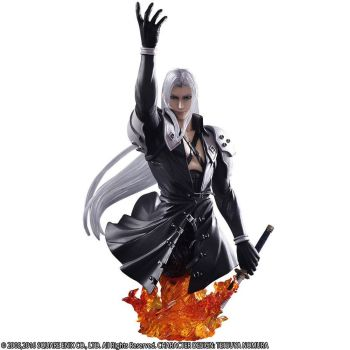 Final Fantasy VII Static Arts buste Sephiroth 19 cm