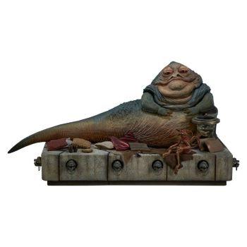 Star Wars Episode VI figurine 1/6 Jabba the Hutt & Throne Deluxe 34 cm