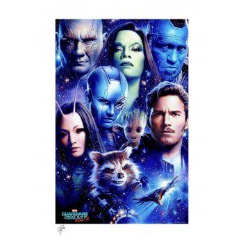 Marvel impression Art Print Guardians of the Galaxy Vol 2 46 x 61 cm - non encadrée