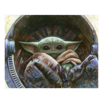 Star Wars The Mandalorimpression Art Print The Child 51 x 41 cm - non encadrée