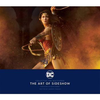 Sideshow Collectibles livre DC: Collecting the Multiverse - The Art of Sideshow  --- EMBALLAGE ENDOMMAGE