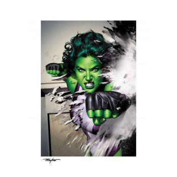 Marvel impression Art Print She-Hulk 46 x 61 cm - non encadrée
