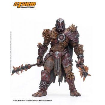 Gears of War figurine 1/12 Warden 18 cm --- EMBALLAGE ENDOMMAGE
