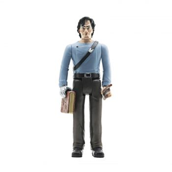Army of Darkness figurine ReAction Medieval Ash 10 cm --- EMBALLAGE ENDOMMAGE