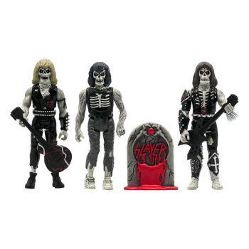 Slayer pack 3 figurines ReAction Live Undead 10 cm