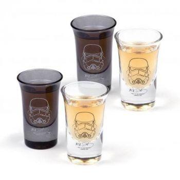 Original Stormtrooper Set 4 verres à liqueur