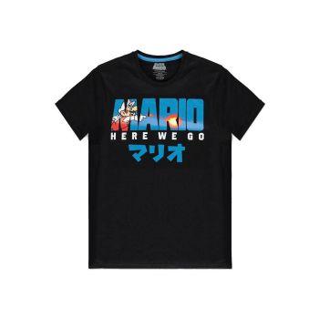 Nintendo T-Shirt Fire Mario