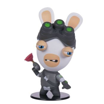 Splinter Cell Ubisoft Heroes Collection figurine Chibi Rabbids Sam Fisher 10 cm