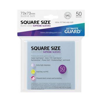 Ultimate Guard 50 pochettes Supreme Sleeves jeux de plateau au format carré