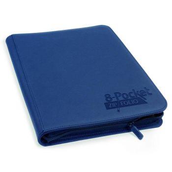 Ultimate Guard 8-Pocket ZipFolio XenoSkin Bleu Marine