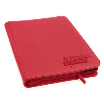 Ultimate Guard 8-Pocket ZipFolio XenoSkin Rouge