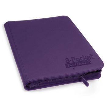 Ultimate Guard 8-Pocket ZipFolio XenoSkin Violet