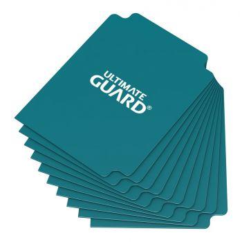 Ultimate Guard 10 intercalaires pour cartes Card Dividers taille standard Bleu Pétrole