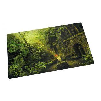Ultimate Guard tapis de jeu Lands Edition II Forêt 61 x 35 cm