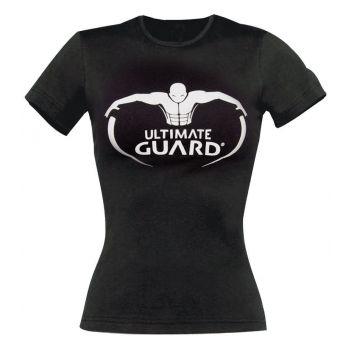 Ultimate Guard T-Shirt femme Logo Noir