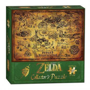 Legend of Zelda Puzzle Hyrule Map --- EMBALLAGE ENDOMMAGE